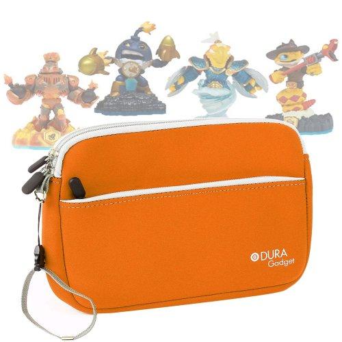 - DURAGADGET Cool and Colorful Carry Case (Fantastic Orange) for Skylander Figures