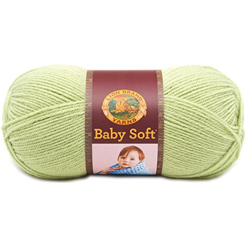 Lion Brand Yarn 920-169 Babysoft Yarn, Sweet Pea -