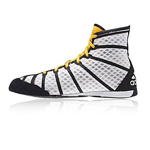 adidas Chaussures de boxe anglaise adizero noir/blanc