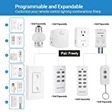 DEWENWILS Remote Control Outlet Wireless Wall