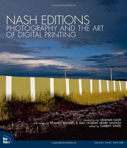 Nash White Jersey (Nash Editions: Photography and the Art of Digital Printing)