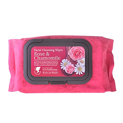 Price comparison product image Morgan Miller Facial Cleansing Wipes Rose & Camomile (60ct)