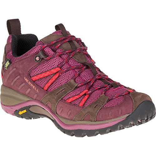 Womens Siren Sport Gore Tex (Merrell Siren Sport Gore-Tex Women's Walking Shoes - AW16 - 6.5 - Purple)