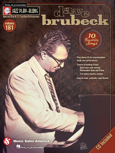 Dave Brubeck: Jazz Play-Along Volume 161