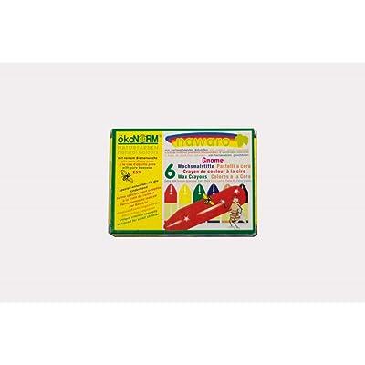 Crayones de cera Bio-Set de 6: Juguetes y juegos