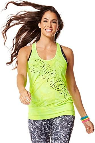 Zumba (ズンバ) Get Hyped Up Bubble Tank Seafoam [並行輸入品]