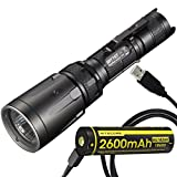 Nitecore SRT7GT Tactical Multi-LED Flashlight Plus NL1826R 2600mAh Rechargeable Battery with Built-in Micro-USB Charge Port & LumenTac USB Cable Review