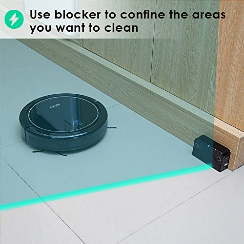 INLIFE i7 Robotic Vacuum Cleaner Strong Suction, Drop and Carpet