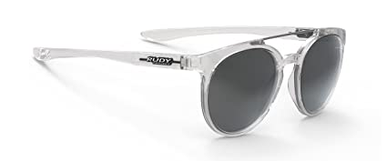 be00591326f Rudy Project Astroloop Lifestyle Sunglasses Crystal Gloss with Laser Black  Lenses