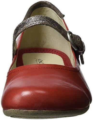Rot Rot Seibel Fiona Women's Ballet Flats 25 Josef kombi PY1w0AqP