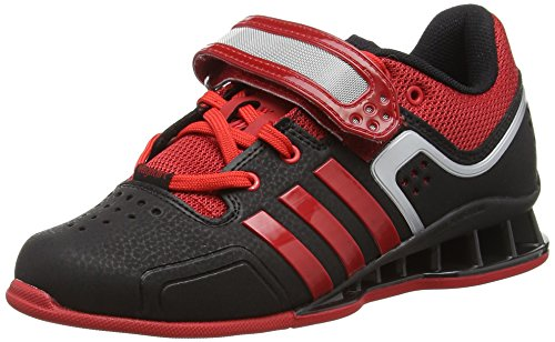 litht Adipower black Scarlet Adulte Mixte Adidas Black Chaussures Indoor Multisport 11wf8