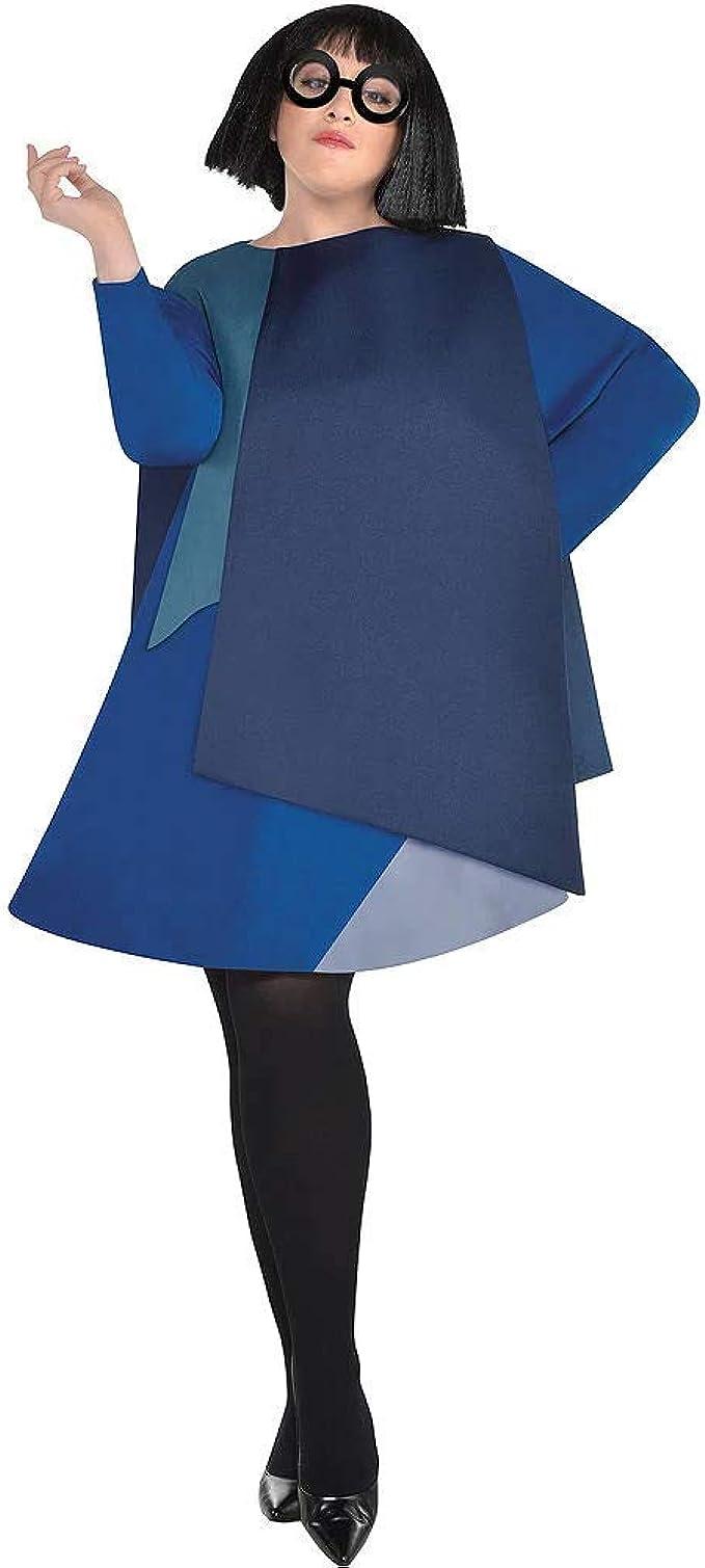 HalloCostume Disfraz de Edna para Mujer, Talla Grande, Compatible ...