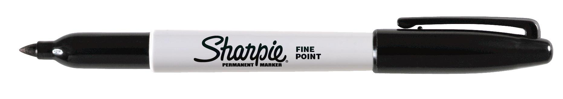 Sharpie Fine Point Permanent Marker, Black (Canister with 36 Pens) by Sharpie (Image #2)