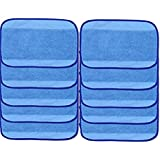 10-pack Wet Microfiber Mopping Cloths Washable&Reusable Mop Pads Fits iRobot Braava 380 380t 320 321 Mint 4200 4205 5200 5200C Robot