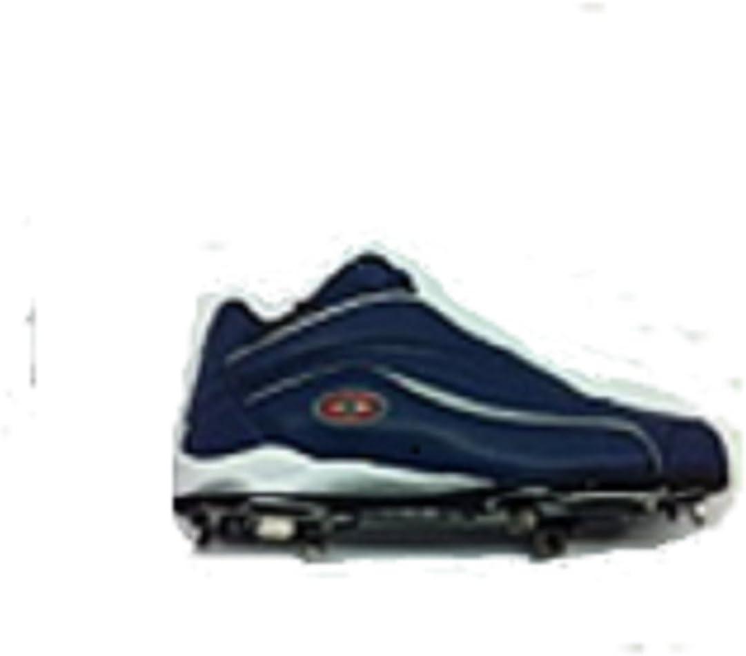 Easton Thunder Mid Metal Baseball Cleats Mens Baseball Blue 9 1//2