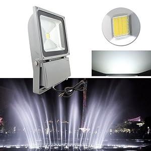 VINGO®100W LED Fluter Strahler Scheinwerfer Spotlight Wasserdicht ...