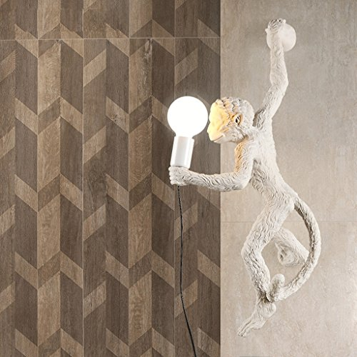 American Country Monkey Decorative Wall Lights High Brightness E27 Light Source European Style Living Room Bedroom Corridor Animal Wall Sconce Creative Personality Bedside Lamp AC 110 - 240V by Wall light-BD