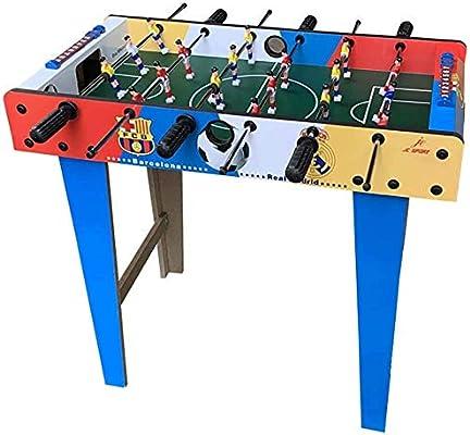 AK Futbolín ahorro de espacio vertical para adultos y niños, Mesa ...