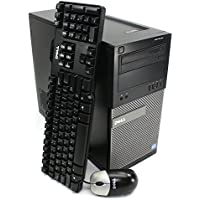 Refurbished - Dell Optiplex 790 Desktop Tower - Intel Quad Core i5-2400 3.1GHz, 8GB DDR3 Ram, 240GB SSD, Windows 7 Professional (by RefurbTek)