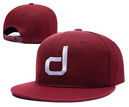 carrie-dustin-johnson-logo-adjustable-embroidery-snapback-hat-cap