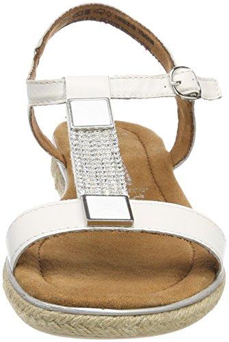 Tozzi De Blanches blanc Sandales T Marco 28133 bar 100 Premio Femmes HBwnqF