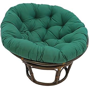 Amazon Com Blazing Needles Solid Twill Papasan Chair