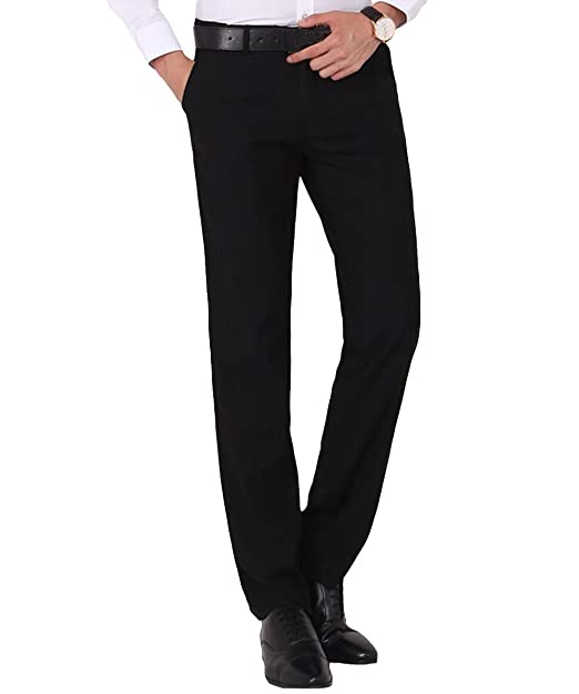 Cloud Style - Pantalón de Traje - Recta - para Hombre Negro ...