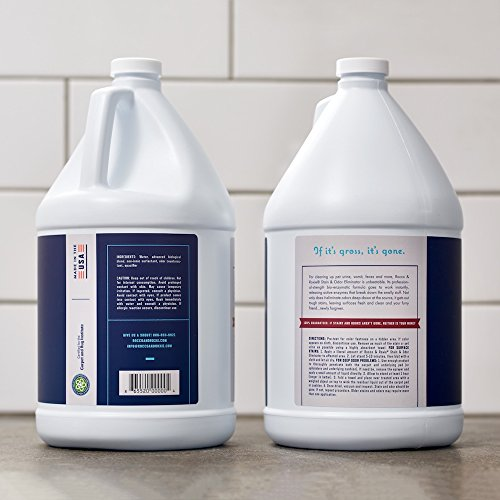 Large Product Image of Rocco & Roxie Professional Strength Stain & Odor Eliminator - Enzyme-Powered Pet Odor & Stain Remover for Dog and Cats Urine (1 Gallon)