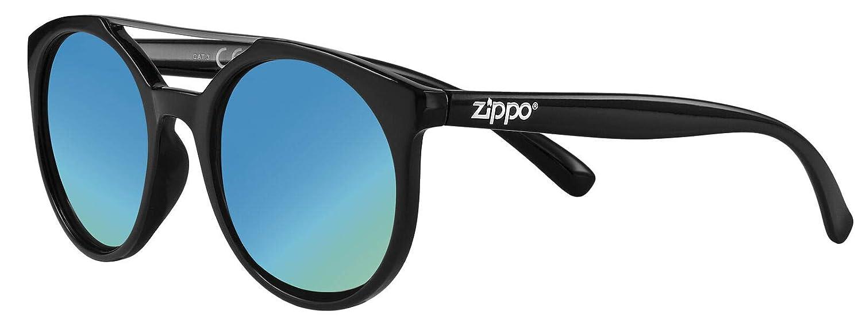 Zippo UV400 - Gafas de Sol Unisex, Color Negro, Talla única ...