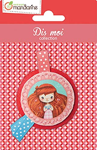 Avenue Mandarine Dis-Moi Girls Collection - Fabric Badge
