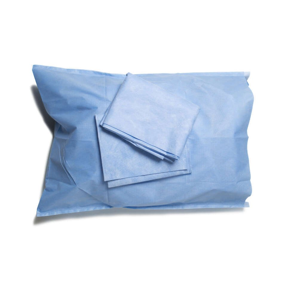 HALYARD Pillowcases, Disposable, 20 Inch x 29 Inch, Blue 67803 (Case of 200) by Halyard Health (Image #1)