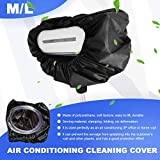 Air Conditioner Cleaning Cover with Water
