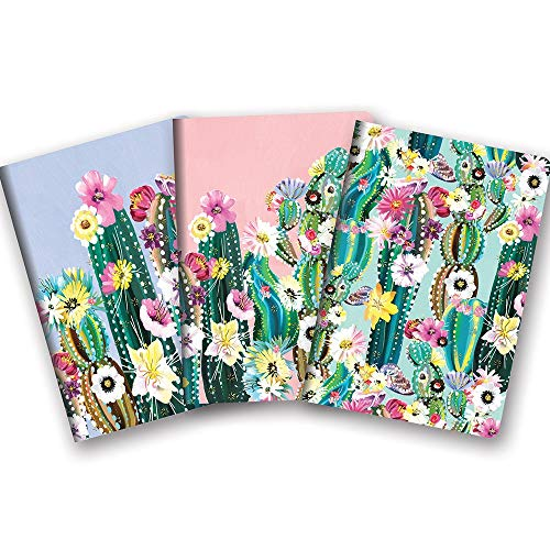 Studio Oh! Notebook Trio of 3 Coordinating Designs Available in 12 Bundles, Desert Blossoms