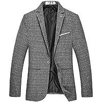 bac6730b379b ANN Men s Slim Fit One Button Lightweight Casual Blazer Sport Jacket