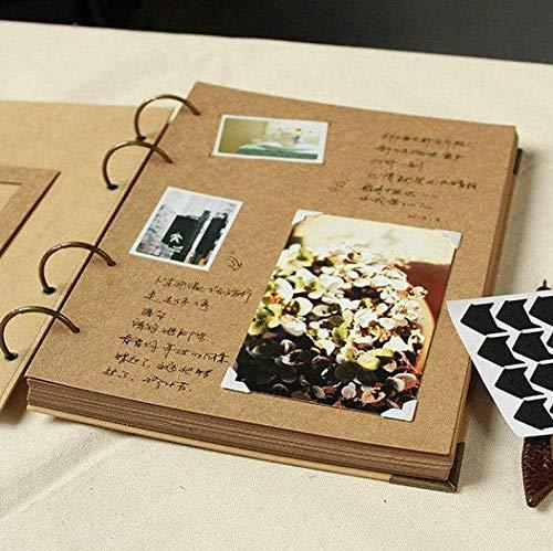 JOLIN DIY Kraft Paper Wedding Album Scrapbook Album Photo Album by JOLIN (Image #5)