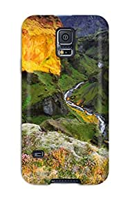 Charles C Lee Case Cover For Galaxy S5 - Retailer Packaging Colorful Canyon Protective Case