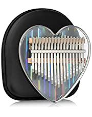 $26 » Kalimba Thumb Piano 17 Keys Musical Instruments, Mbira Finger Piano Gifts with Tune Hammer and Study Instruction for Kids and Adults Beginners