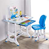 GMOON Height Adjustable Study Desk and Chair Set