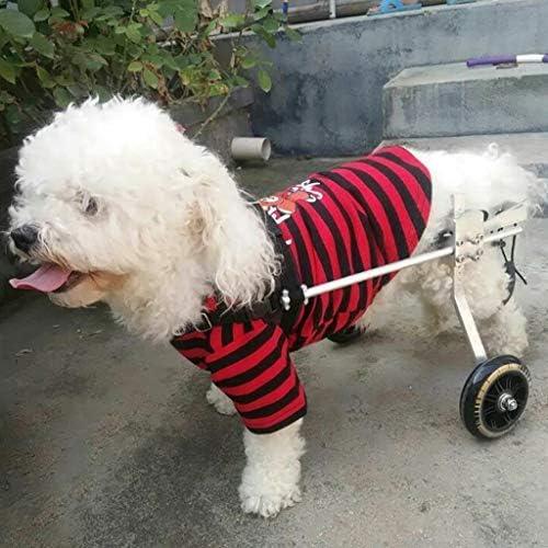 Silla de ruedas para perros ajustable Perro de ruedas Apoyo a la ...
