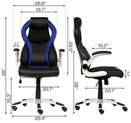 Seatzone High Back Executive Swivel Office Chair
