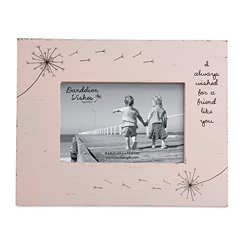 Pavilion Gift Company Friend Like You Pink Rustic 4x6 Picture Frame