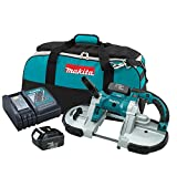 Cheap Makita XBP02 18V LXT Lithium-Ion Cordless Portable Band Saw Kit (3.0Ah) (Discontinued by Manufacturer)