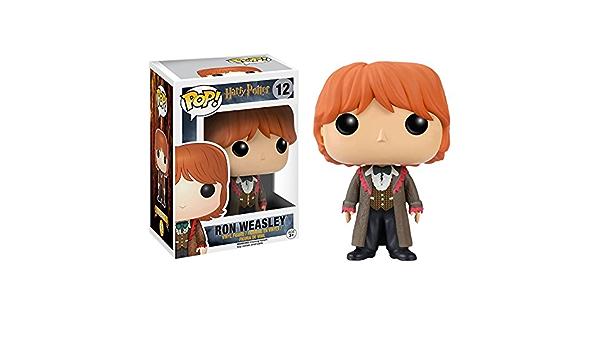 HARRY POTTER Pop! Movies - Muñeco cabezón Ron Weasley Yule ...