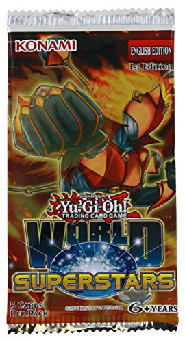 Konami Yu-Gi-Oh World Superstars Booster Pack