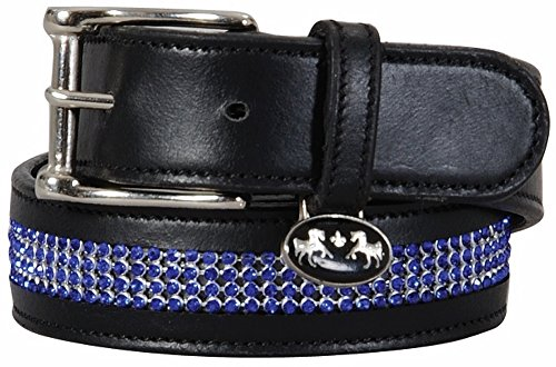 Equine Couture Bling Leather Belt - Regular Leather ()
