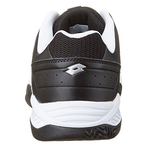 Lotto T-Tour Ix 600, Zapatillas de Tenis para Hombre Weiß (WHT/BLK)
