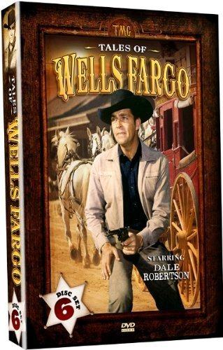 Tales Of Wells Fargo   Starring Dale Robertson   6 Dvd Set  By Shout  Factory   Timeless Media