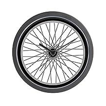 "CafePress - Bicycle (Bike) Tire - Unique Decorative 10"" Wall Clock"
