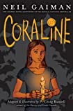 img - for Coraline: The Graphic Novel Adaptation of the Magical National Bestseller book / textbook / text book