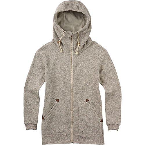 Burton Women's Minxy Full-Zip Fleece, Dove Heather W17 X-Small